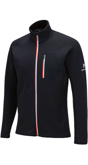 Peak Performance M's BL Mid Zip Sweatshirt Black